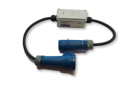 Dust extractor plug in sensor (industrial connector options)
