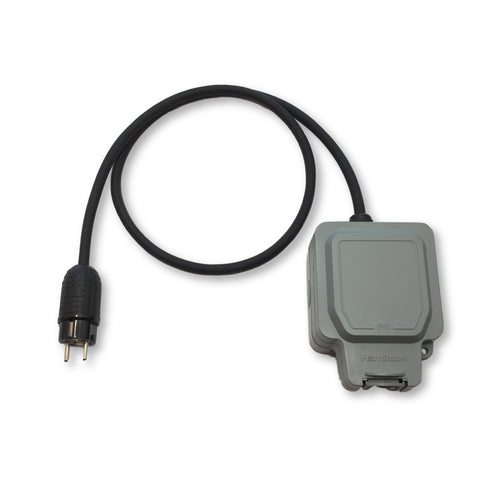 EV granny charger weatherproof travel adaptors