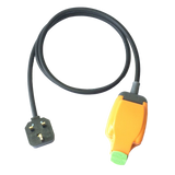 13A UK extension lead with H07RN-F rubber cable, Permaplug and weatherproof socket. RCD options. Gardening, DIY