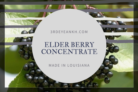 Elderberry/Elderflower Elixer