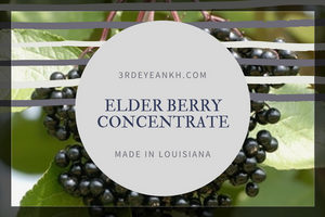 8 oz Elderberry/Elderflower Elixir