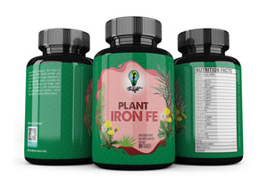 Organic Plant Iron Fe (Tablets) Backorder until April 27th
