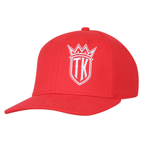 TK Fitted Hat (Red/White)