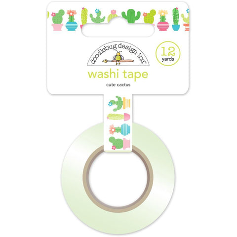 Doodlebug Design  - Washi Tape, Cute Cactus