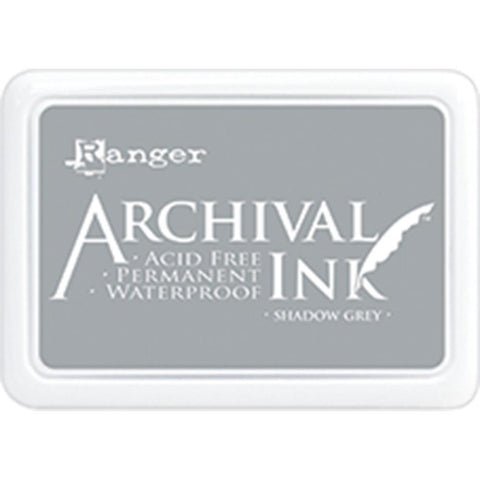 Ranger Ink - Shadow Grey,  Archival Ink Pad