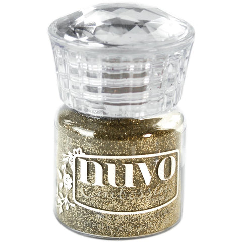 Tonic Studios Nuvo Embossing Powder-Glitter Gold Enchantment