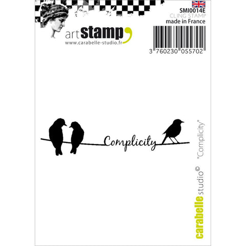 Carabelle Studio Cling Stamp-Complicity