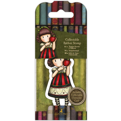 Docrafts Santoro Gorjuss  No.37 Dear Apple Mini Stamp - 7 Kids Your Crafting Supply Store