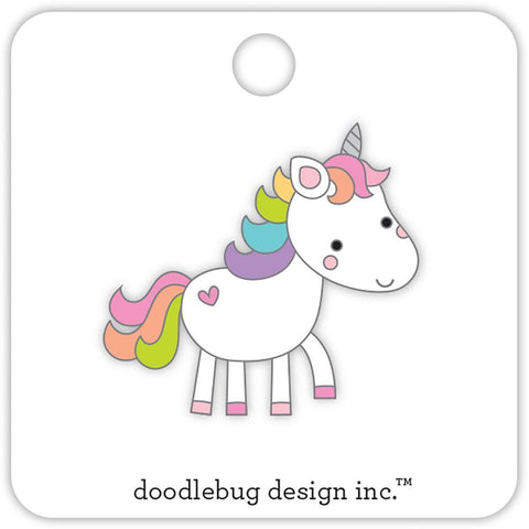 Doodlebug Designs Collectible Enamel Pin- Fairy Tales Unicorn