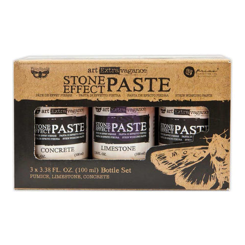 Prima Marketing - Finnabair Art Extravagance Stone Effect Paste Set