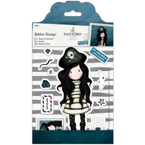 Docrafts Gorjuss Girls Stamp-Piracy