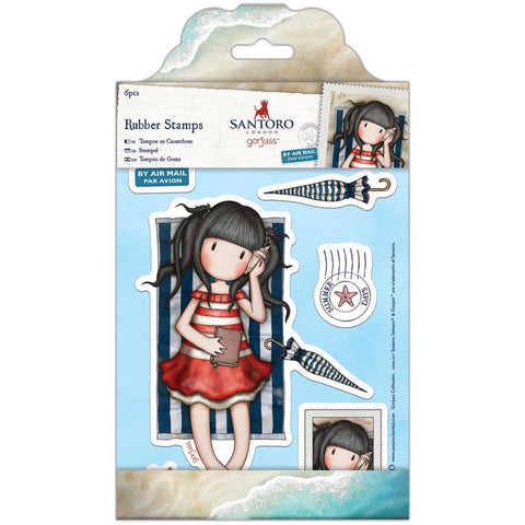Docrafts Gorjuss Girls Stamp-Summer Days
