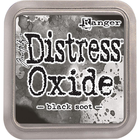 Tim Holtz Distressed Oxides Ink Pad-Black Soot