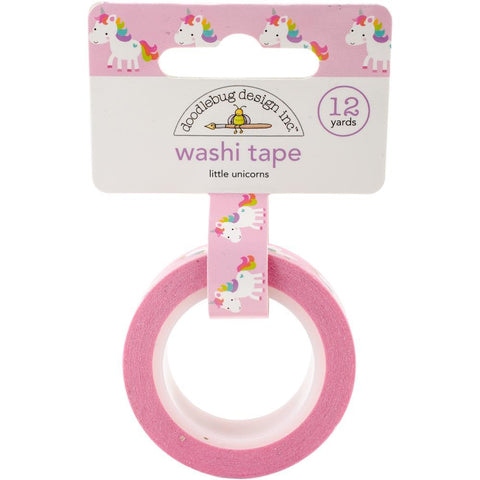 Doodlebug Design - Fairy Tales Collection Washi Tape - Little Unicorns
