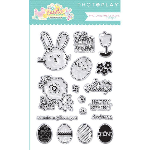 Photoplay Clear Stamp Set-Easter Blessings