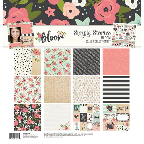 Simple Stories - Bloom, 12x12 Collection Kit