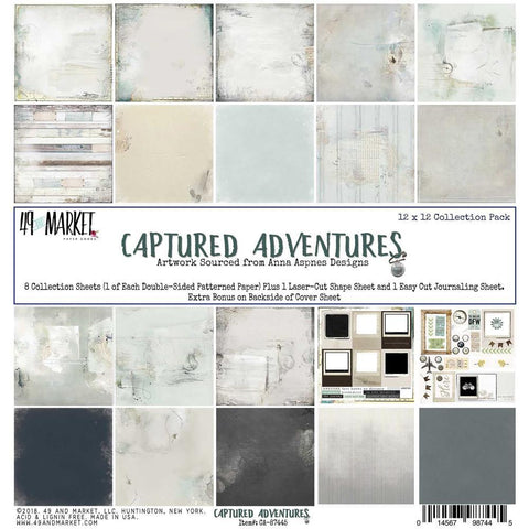 49 and Market - Captured Adventures, 12x12 Collection Pack