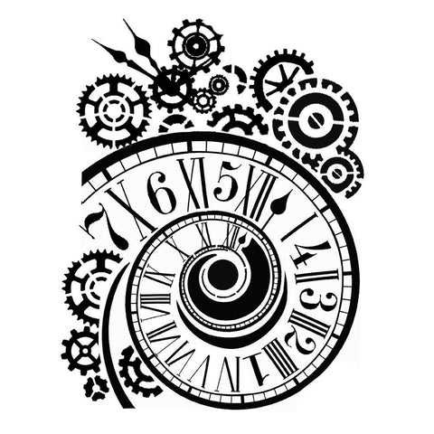 Stamperia - Stencil, Clock & Mechanisms