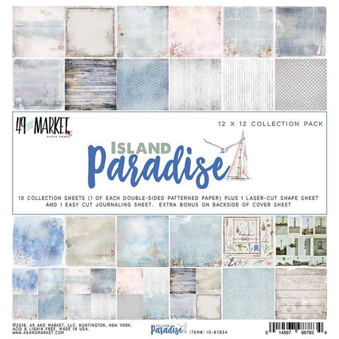 49 and Market - Island Paradise, 12x12 Collection Pack