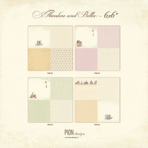 Pion Designs 6x6 Collection-Theodore and Bella