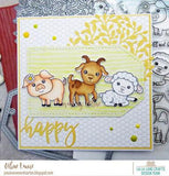 La-La Land Crafts - Just For You, Background Stamp