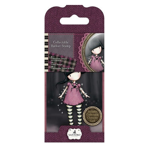Docrafts Santoro Gorjuss  No. 13 FAIRY LIGHTS  Stamp - 7 Kids Your Crafting Supply Store