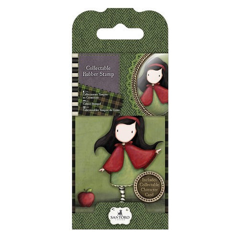Docrafts Santoro Gorjuss  No. 14 LITTLE RED  Stamp - 7 Kids Your Crafting Supply Store