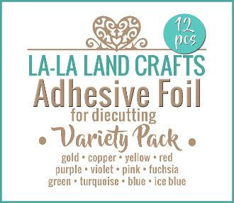 La-La Land Crafts-Adhesive Foil