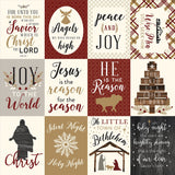 Echo Park Wise Men Still Seek Him-3x4 Journaling Cards