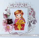 Whimsy Stamps-Pretty Lil Present
