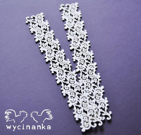Wycinanka Lace Border Pattern 3