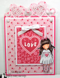 Docrafts Santoro Gorjuss No.24 HEARTFELT Stamp - 7 Kids Your Crafting Supply Store