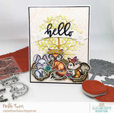 La-La Land Crafts - Spring Woodland Critters, Photopolymer Clear Stamp
