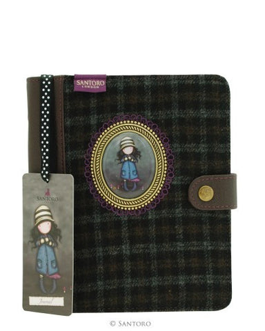 Santoro London Gorjuss Cameo Journal-Toadstools