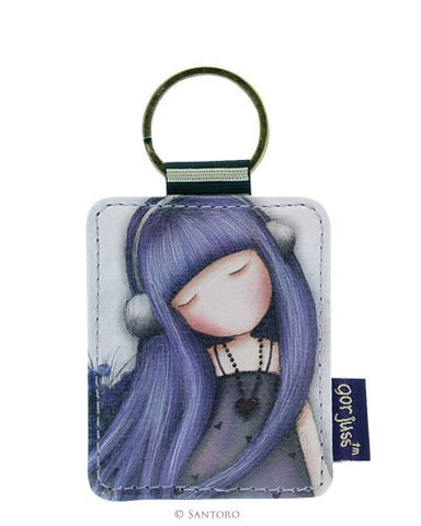 Santoro London Gorjuss Flat Key Ring-Dear Alice