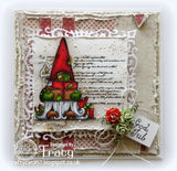 Vilda Stamps Gnome With Gifts