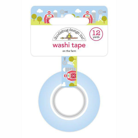 Doodlebug Design Down on the Farm Collection Washi Tape - On the Farm