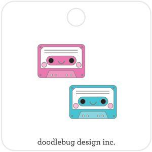 Doodlebug Designs Collectible Enamel Pin- Tiny Tapes