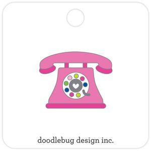 Doodlebug Designs Collectible Enamel Pin- Hello!