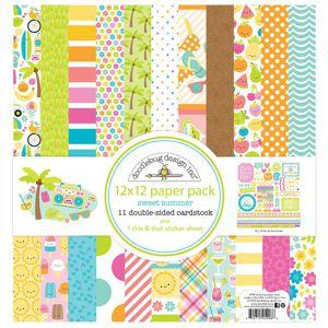 Doodlebug Design Sweet Summer- 12 x 12 Paper Pack