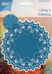 Joy Crafts Cutting and Embossing  Die-Round Doily 1
