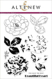 Altenew - Beautiful Heart, Clear Stamp Set