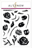 Altenew Clear Stamp Set-Brush Art Floral