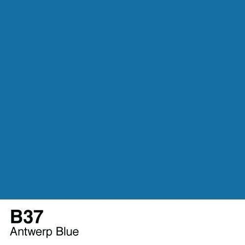 Copic Sketch Marker-B37 Antwerp Blue