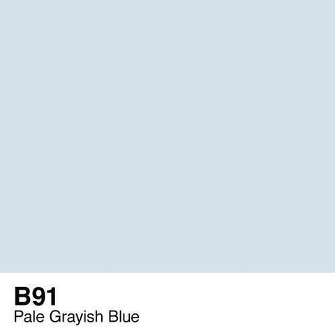 Copic Sketch Marker-B91 Pale Grayish Blue