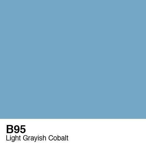 Copic Sketch Marker-B95 Light Grayish Cobalt