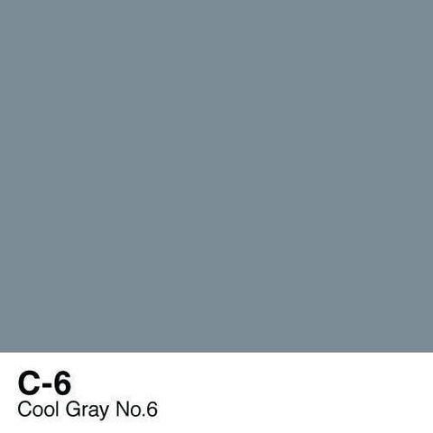 Copic Sketch Marker-C6 Cool Gray #6