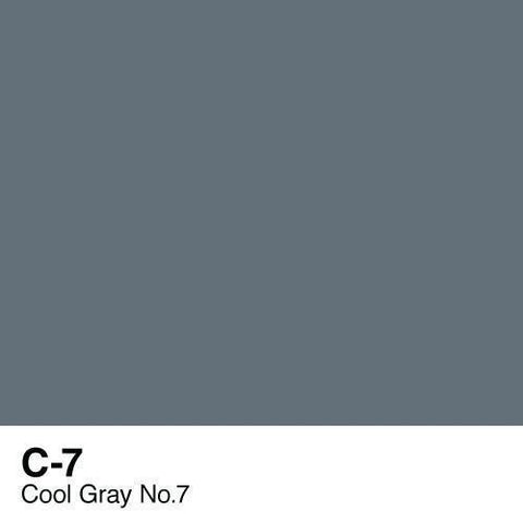 Copic Sketch Marker-C7 Cool Gray #7