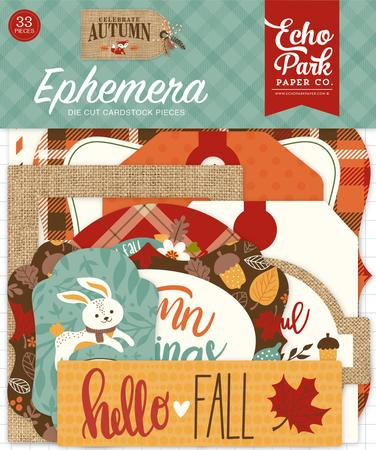 Echo Park - Celebrate Autumn, Ephemera