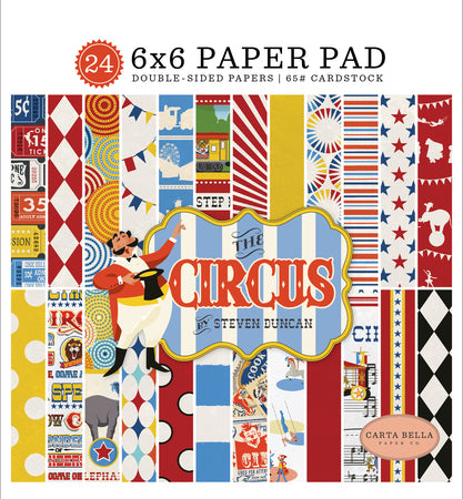 Carta Bella -  6x6 Paper Pad, The Circus